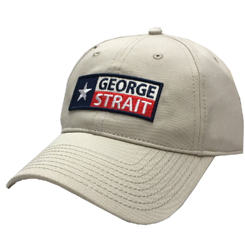 George Strait Natural Ballcap