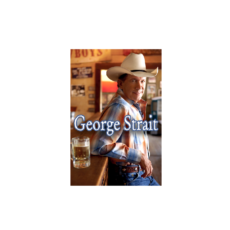 George Strait Cold Beer Magnet