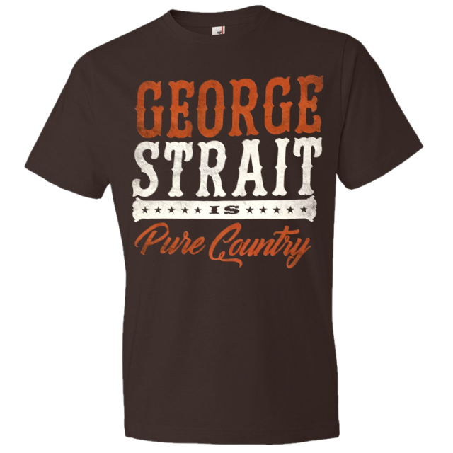 George Strait Chocolate Pure Country Tee