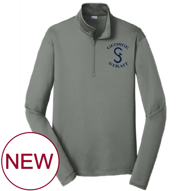 George Strait Grey Pullover