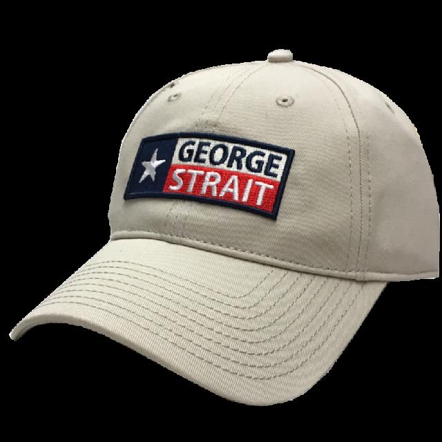 George Strait Natural Ballcap