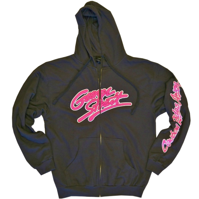 George Strait Charcoal Zip Up Hoodie