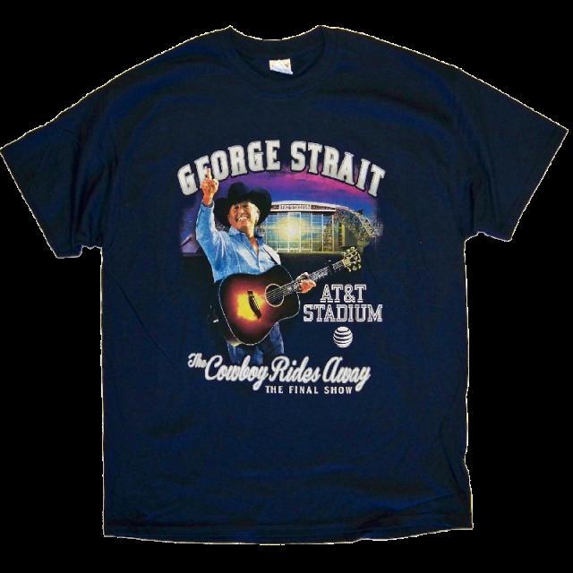 George Strait 2014 Navy AT&T Stadium Tee