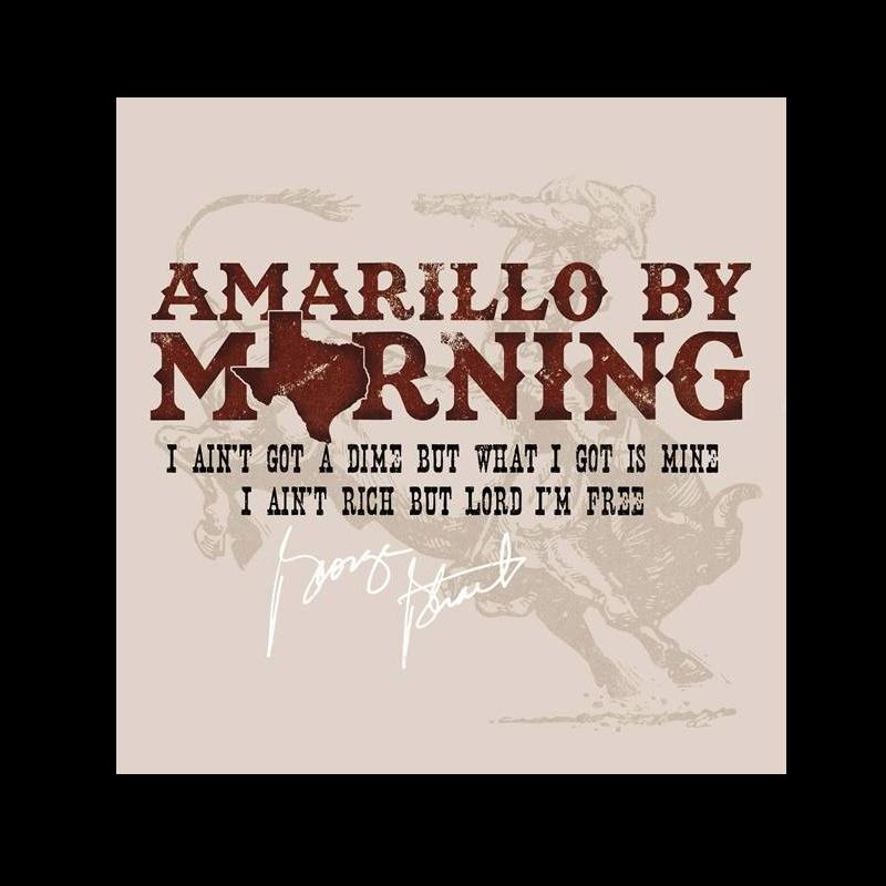 George Strait Unisex Amarillo By Morning Tee
