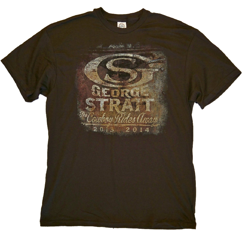George Strait Vintage Truck Brown tee