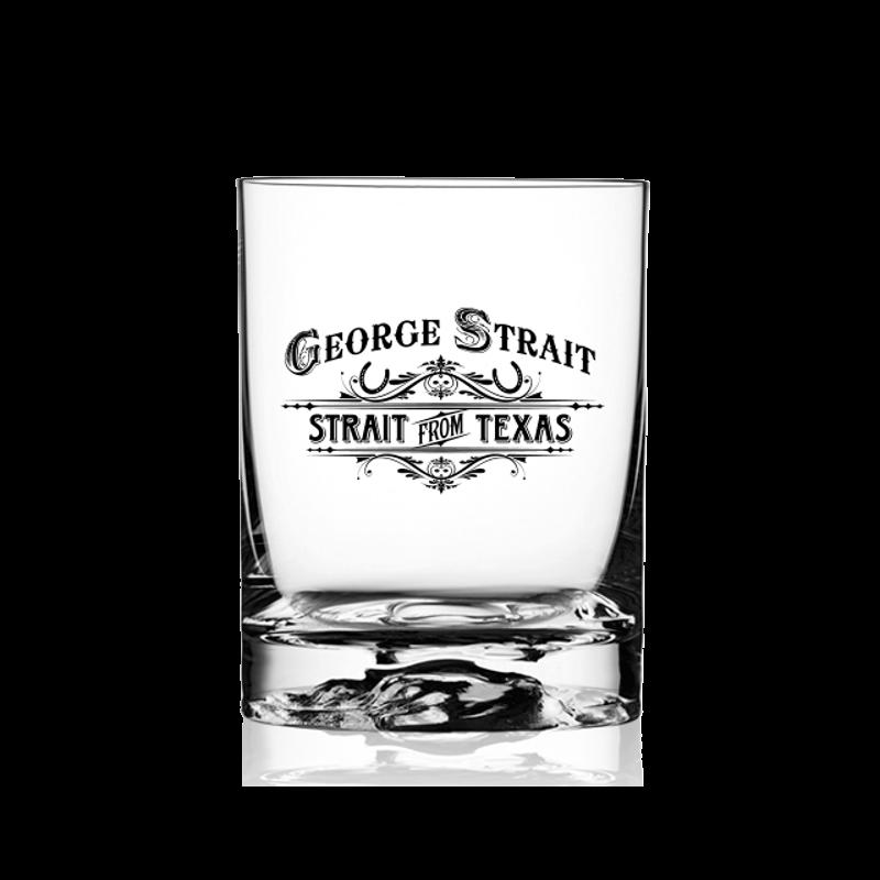 George Strait Old Fashion Glass