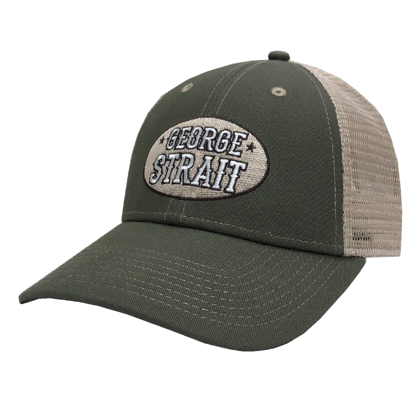 George Strait Olive and Khaki Ballcap