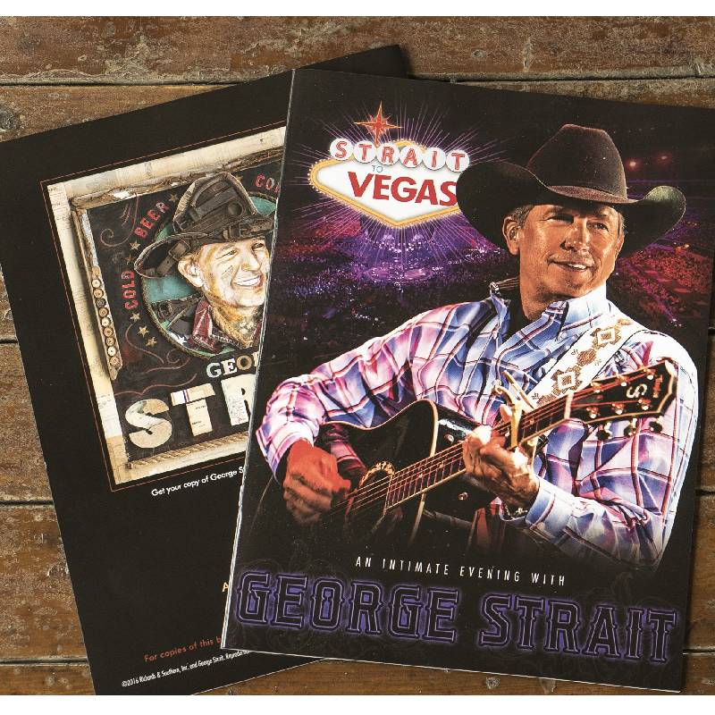 George Strait Strait To Vegas Program