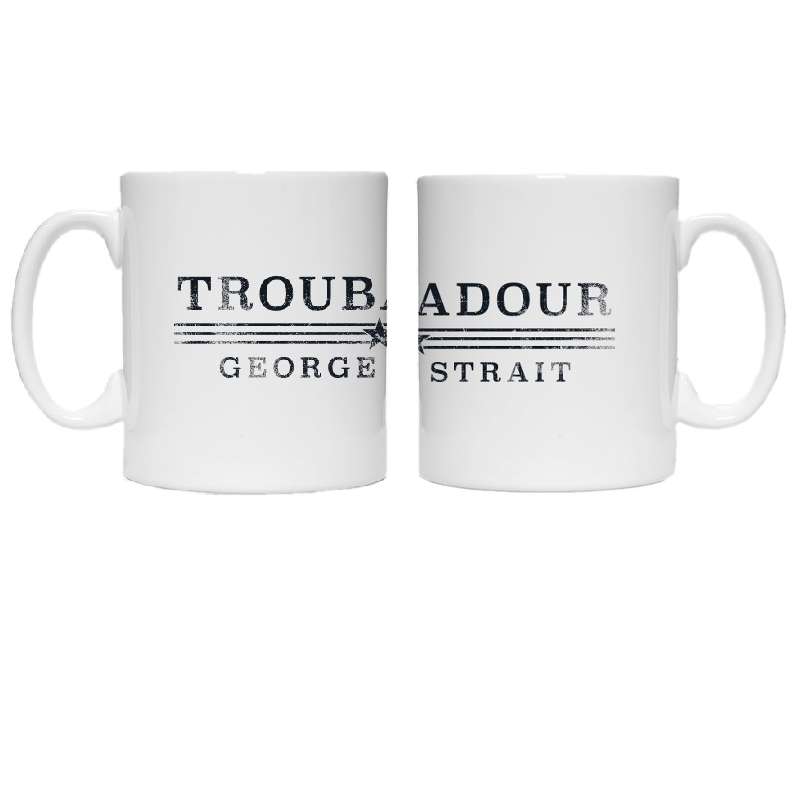 George Strait Coffee Mug w/ Wrap Around Design
