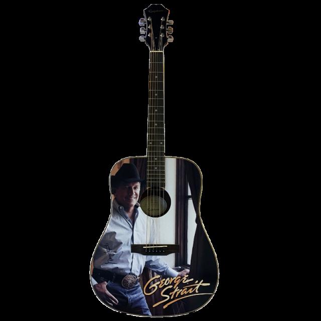 George Strait AUTOGRAPHED Guitar