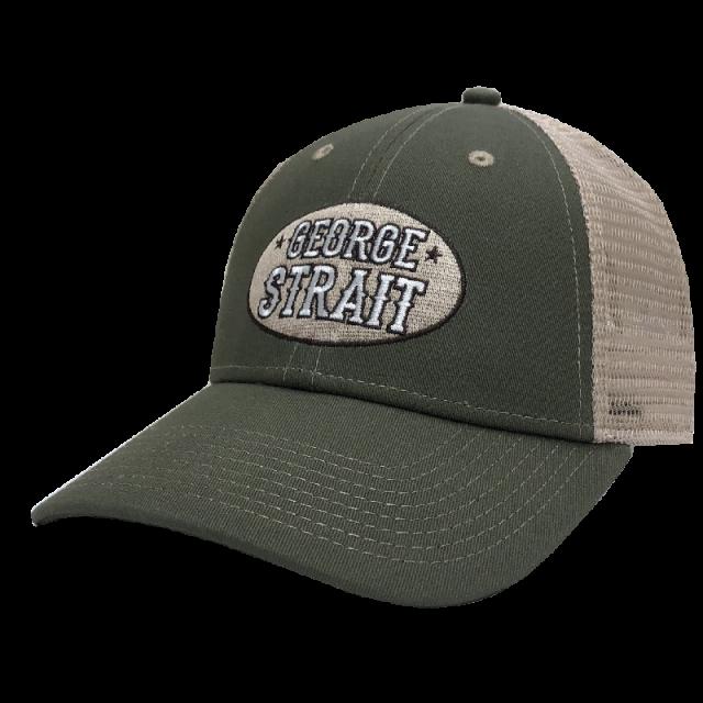 George Strait Olive and Khaki Ballcap