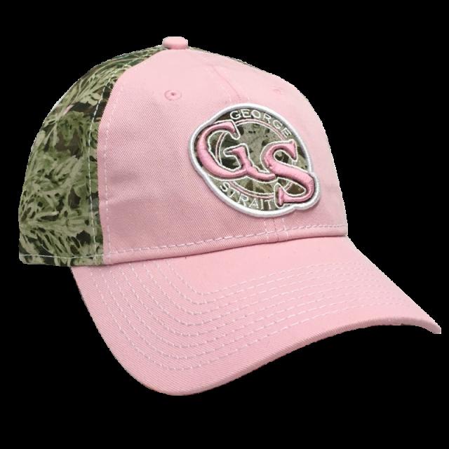 George Strait Advantage Max-1 Pink Camo Ballcap