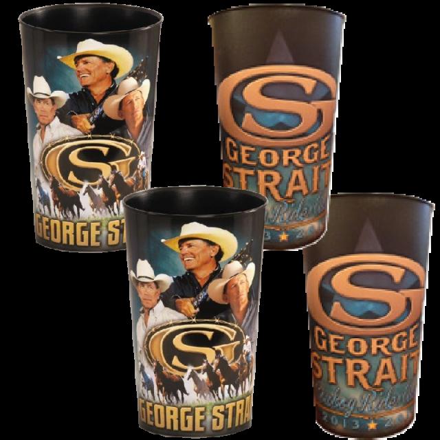 George Strait 4 Cup Set