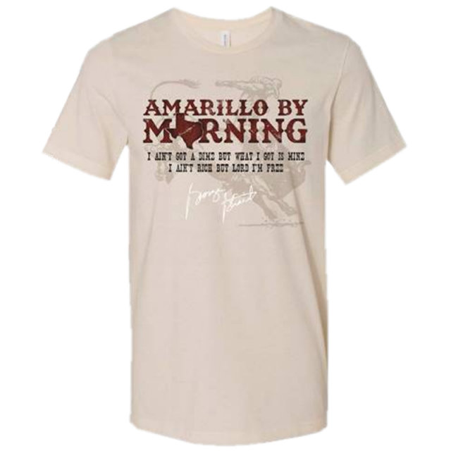 George Strait Unisex Amarillo By Morning Tee