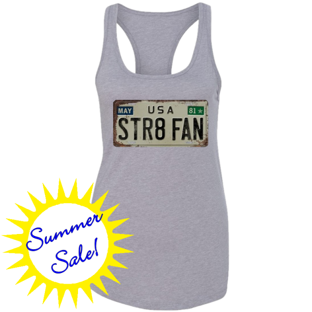 George Strait Heather Grey STR8 FAN Tank