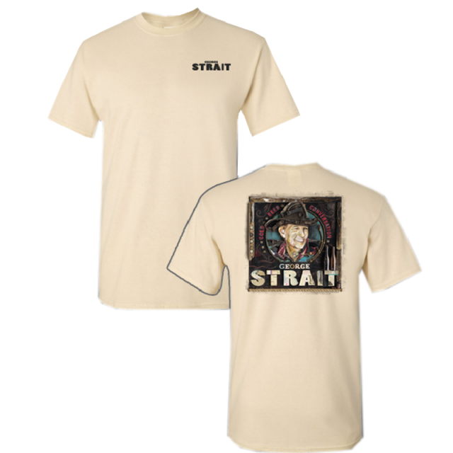 George Strait Natural Tee