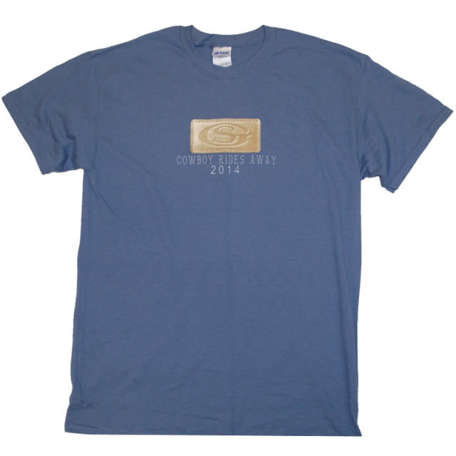 George Strait Denim Patch Tee