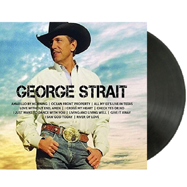 George Strait Icon Vinyl