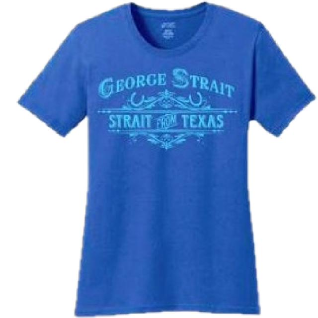 George Strait Ladies Royal Tee