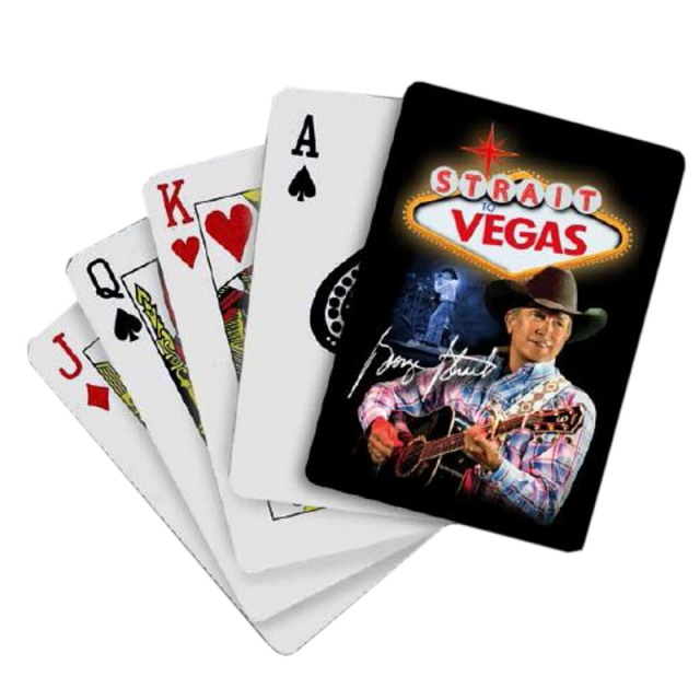 George Strait Playing Cards