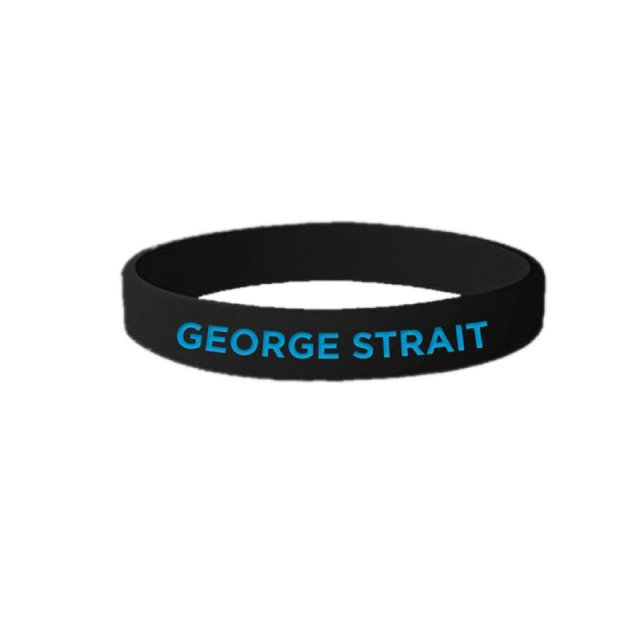 George Strait Rubber Wristband
