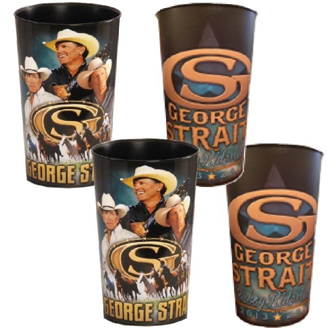 George Strait 4 Cup Set